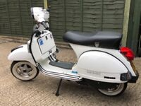 2013 Vespa px 125 with 177 polini aluminium barrel