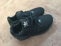 Black Adidas ZX FLUX trainers