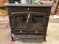 12kw Dual burning stove 6 months old VERY GOOD CONDITION all complete ...