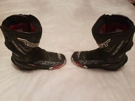 RST Motorcycle Boots Size 6