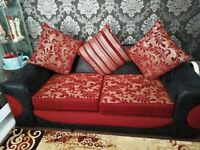 Sofa set 3 X 3 + Swivel chair