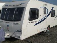 Bailey Pegasus Verona 2013 4 berth touring caravan