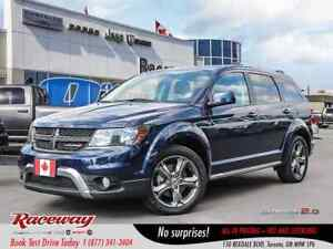 2018 Dodge Journey ***CROSSROAD***LEATHER***ROOF***DVD***