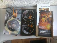 INSANITY BEACHBODY WORKOUT 12 DVD SET AND NUTRITION PROGRAMME