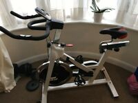 Nearly New Indoor Spinning Bike JLL IC300
