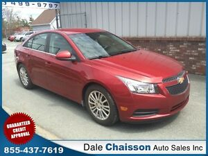 2012 Chevrolet Cruze Eco- ($40 Weekly $0 Down Tax Inc.)*