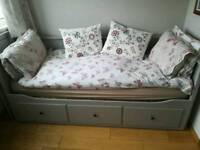 Day sofa bed and mattress