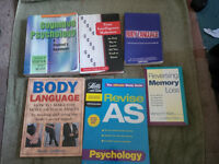 Pyschology books