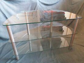 TV Stand Glass 3 shelf