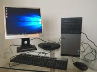 Dell Optiplex 790 PC with monitor, keyboard and mouse!