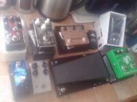 GUITAR BASS PEDAL, ZOOM MS100BT,LOOP,DISTORTION,OCTAVE FUZZ,WAH VOLUME,BUFFER,OCD OVERDRIVE,