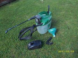 cuprinol power sprayer (cordless)