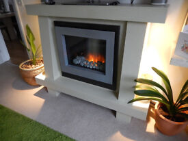 Flamerite Odyssey Electric Fire & Stone Effect Surround - Absolutely stunning!