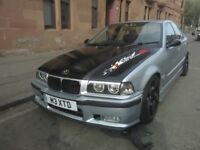 BMW E36 with M3 plate