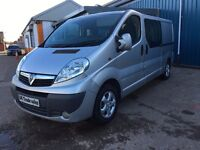 2012 VAUXHALL VIVARO CDTI ***LONG MOT*** similar to traffic boxter transit vivaro grafter connect
