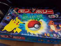 Pokemon (pocket monsters) rare import Japanese monopoly