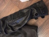Tailor made ALPINESTAR LEATHERS
