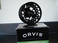 ORVIS CLEARWATER 11 Large ArborFLY REEL in unused condition and original packaging