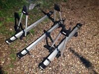 3x Thule Tour 515-0127 Bike Carriers / Cycle Carrier / Roof Mounted / Upright