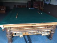Prestige snooker table perfect condition can be dismantled and put back together