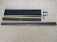 3 Ikea Hoppvals Cellular blinds in Grey