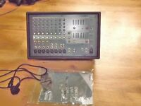 YAMAHA EMX3112SC POWER MIXER AMP WITH INSTRUCTIONS LEADS AND FEET