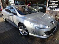 PEUGEOT 407 2.7 HDi SE 2dr Auto (silver) 2007