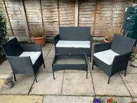 Rattan Furniture 4 Piece Set **Brand New** See Description