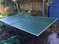 Ketler table tennis table
