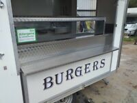 Catering trailer lpg equipment burger van kebab fryer Bain Marie refrigeration