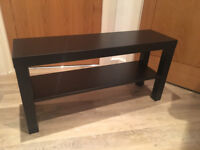 FREE! IKEA Black TV Stand / Side Table
