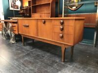 Compact Sideboard by Jentique. Retro Vintage Mid Century