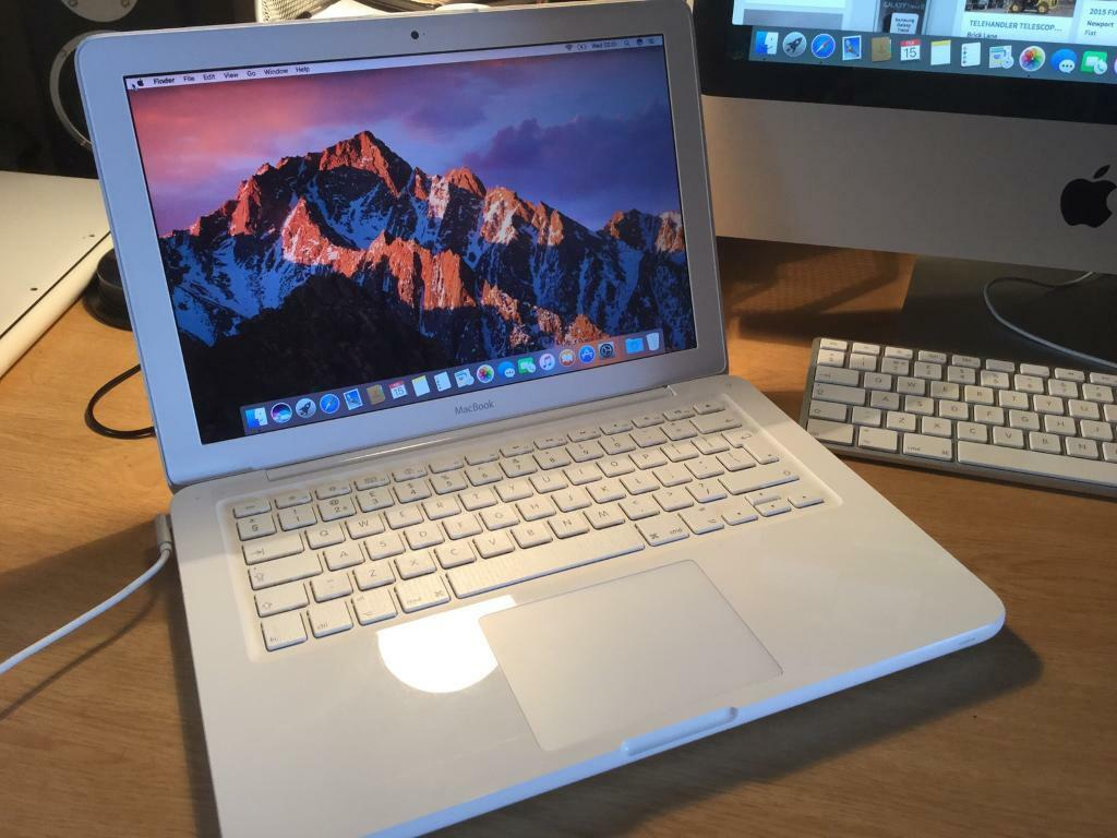 Apple MacBook a1342 OSX Sierra 128SSD12GB RAMin Hyde, ManchesterGumtree - Apple MacBook a1342 OSX Sierra 128SSD 12GB RAM very fast and clean MacBook with new SSD fitted and new charger comes with the latest OSX and Microsoft Office and Logic Pro installed