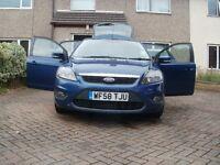 FORD FOCUS 100 ZETEC 1600CC 5 DOOR HATCH BLUE