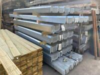🔩 Various Sized Box Profile Galvanised Roof Sheets - New