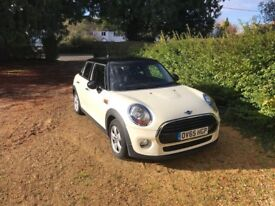 White Mini Cooper, One Owner, 2 Years Service Included, Quick Sale