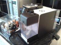 Coffee machine with lots coffee beans for sale!
