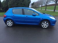 2006 PEUGEOT 307 1.6 H.D.i SE # DIESEL # VERY ECONOMICAL FULL YEARS M.O.T # EXCELLENT CONDITION