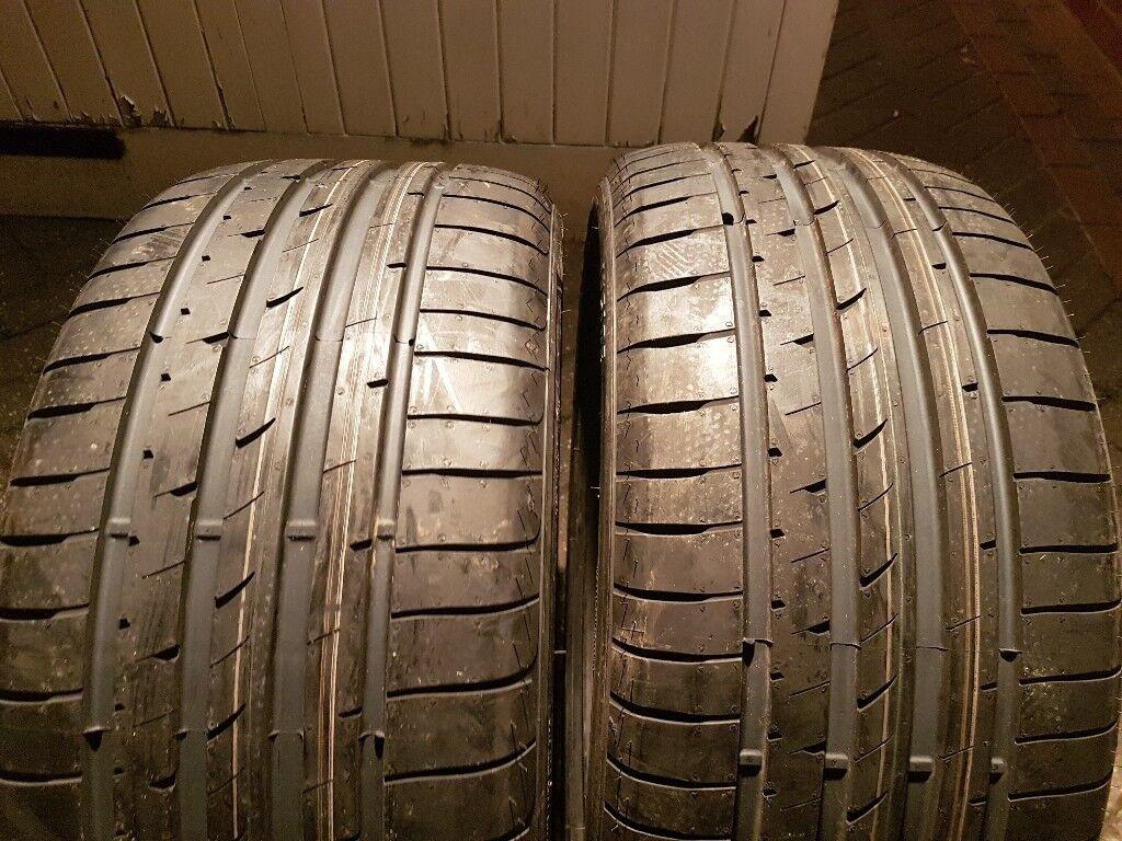 2x brand new 255/35/19 Goodyear Eagle F1 Asymmetric 2 runflat tyres