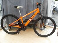 ADULTS QUALITY ORANGE ACTIV JUMP STYLE SUSPENSION MOUNTAIN BIKE LIKE NEW