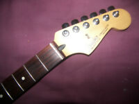 Fender Stratocaster Mexico , Mexican , MIM , (2005-2006) Electric Guitar Neck + Tuners.