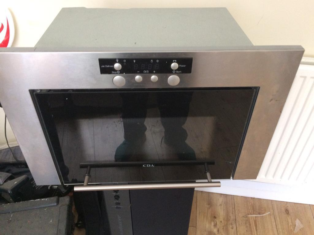 Microwave fitted