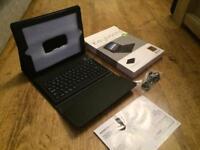 iPad Bluetooth Leather Keyboard Case