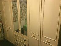 bedroom 3-piece wardrobe