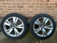 "18"" Saab Alloy Wheels & Tyres"