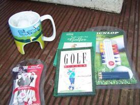 Golf gifts - stocking fillers / secret santa gifts