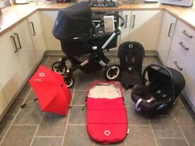 Bugaboo Buffalo plus lots of extras , Excellent condition .