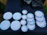 Camping plates and bowls