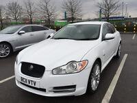 2011 JAGUAR XF LUXURY 3.0D WHITE AUTO 32K MILES