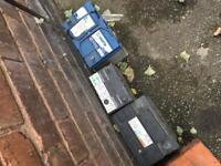 Car van batteries